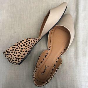 Cheetah Print & Nude Flats